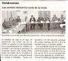Photo Ouest France : Formation Aînés Vendrennes